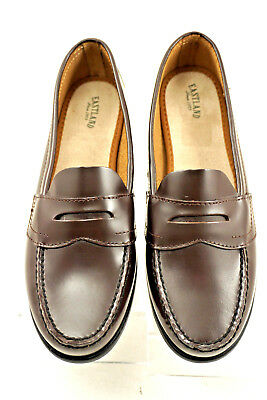 353b6f0ebb3 EASTLAND CLASSIC II Womens Brown Leather Penny Loafers 9M -  34.95 ...