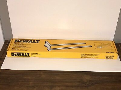 EUC DeWalt Miter Saw Extension Kit DW7080 fits DW708