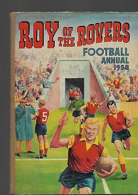 Roy of the Rovers Football Annual 1958. Quick delivery. Relist