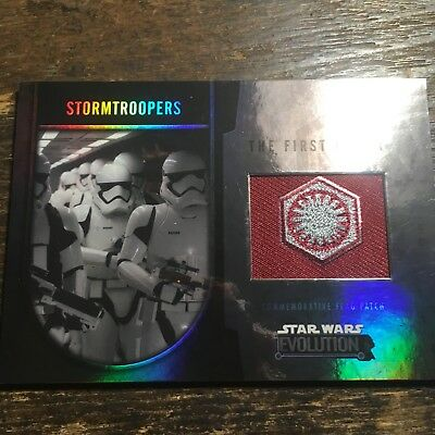 Star Wars Evolution 2016 Steel Stormtroopers The First Order Patch.