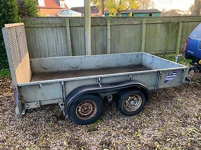 IFOR WILLIAMS GD105 10x5 twin axle trailer Good straight trailer taken in PX