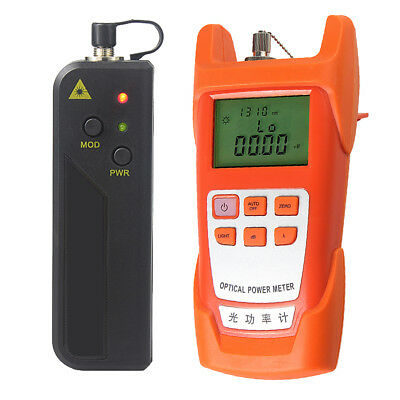 Optical Fiber Power Meter and 10mW Visual Fault Locator Tester Tool (VFL)