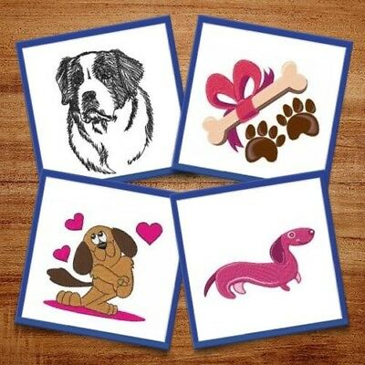 Everyone Loves Dogs - 12 Machine Embroidery Designs