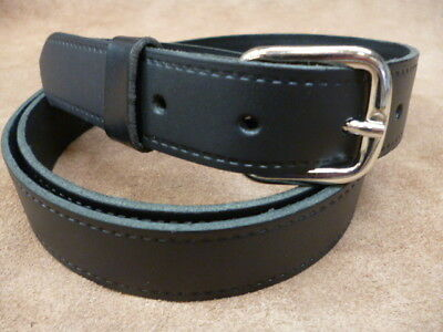 Red 38 mm Wide Hand Made Real Leather Belt 1 1//2 inch Trouser Dress XL XXX Large