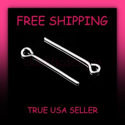 18mm 150 pcs Silver Plated Eye Pins Jewelry Findings Headpins Earrings Necklace