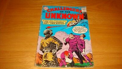DC COMIC CHALLENGERS OF THE UNKNOWN 1963 No. 33