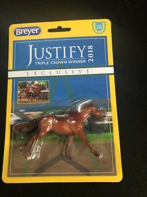 Breyer Stablemates Justify Horse Model Toy New