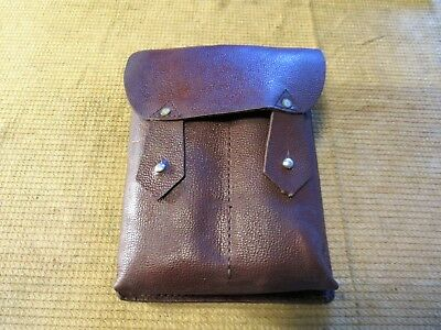 Romanian Ak/akm Leather Four Cell Magazine Pouch