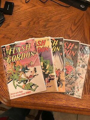Flash Gordon 1966 King Comics #1,2,4,6,8