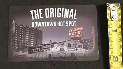 El Cortez Hotel and Casino Room Key Fremont St., Las Vegas, NV (#A2)