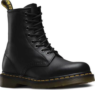 NEW Mens Dr Martens 1460 8 Eye Black Nappa Smooth Leather Lace Up Boots GENUINE