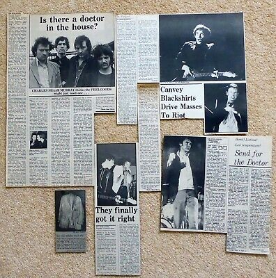 Dr FEELGOOD – NME MUSIC PAPER ALBUM & GIG REVIEWS MID 1970s - Cuttings