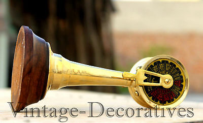 """6"""" Handmade Brass Telegraph Colectible Table Top Nautical Vintage Telegraph Gift"""