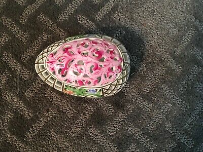 Most Beautiful Herend Hungary Hand Painted Egg Trinket Box