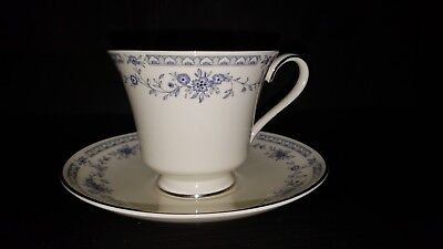 NEW MINTON Bellemeade FOOTED TEA CUP and SAUCER SET
