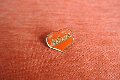 20041 Pin's Pins Televie Fnrs Rtl-Tvi Belgique Coeur Heart