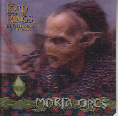 2002 Lord of the Rings Action Flipz #48 Moria, the ancient city