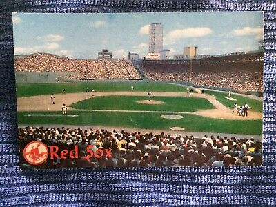 Fenway Park - Home Of The Boston Red Sox - Vintage Postcard