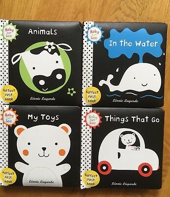 BABY CAN SEE First Books - Things That Go, My Toys, Animals, In The Water