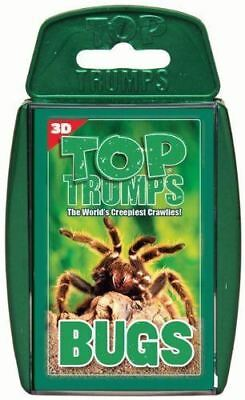 Top Trumps BUGS playing cards animal data card game insect spider NEW