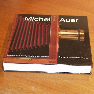 The guide to antique cameras vintage book 1990 signed by Michel AUER