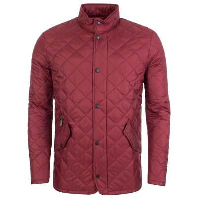 Barbour Men's Flyweight Chelsea Quilted Jacket, Red, XL, New With Tags