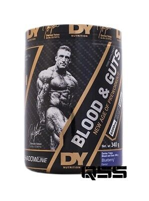 Dorian Yates Dy Nutrition Blood And Guts 340G - Pre Workout Nox Pump Energy