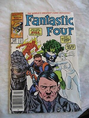 FANTASTIC FOUR #292 very fine to near mint 1986