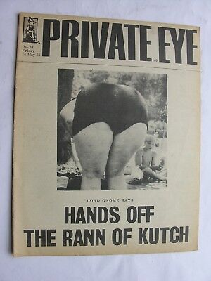 PRIVATE EYE 1965 14 May No 89 Paul Johnson Spike Milligan Rann of Kutch