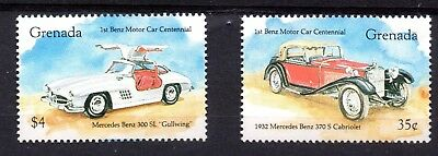 Grenada (2350) 1993 Centenaries of Henry Ford part set Unmounted Mint Sg2444 & 7