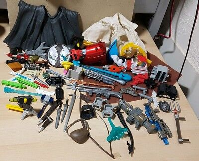 Large lot of various figure & toy parts transformers star wars LOTR and more