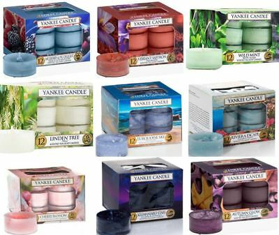 BNIB 12 Home fragrance Various different Yankee candle scented tealights- new
