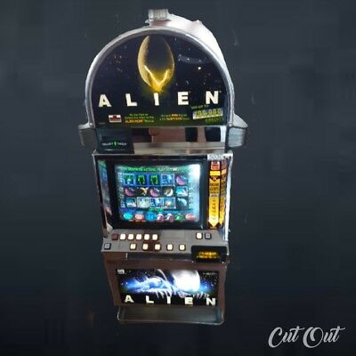 """Igt I Game """"alien"""" Slot Machine (Coinless)"""