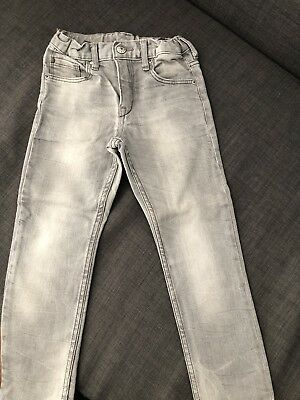 Boys H&M Grey Jeans Size 4-5 Years!