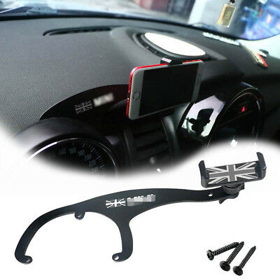 Fit Mini Cooper R55 R56 Union Jack Style Smartphone Cell Phone GPS Mount Holder