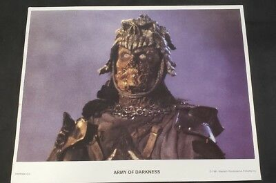 Army of Darkness Lobby Cards 11X14 (1991 Western Renaissance) Set of 6