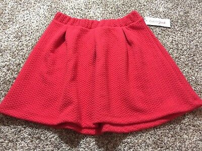 Cat & Jack Red Skirt. Size: L (10-12)