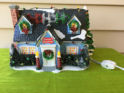 """Dept 56 Snow Village """"The Holiday House"""" / Retired / 56 55048"""