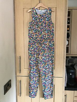 Marks & Spencer Girls Jumpsuit Age 8-9 Years Excellent Condition