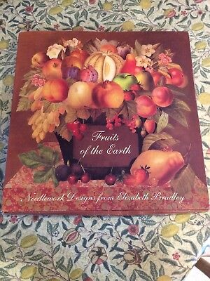 Embroidery Needlework Kit 'Fruits Of The Earth' Elizabeth Bradley