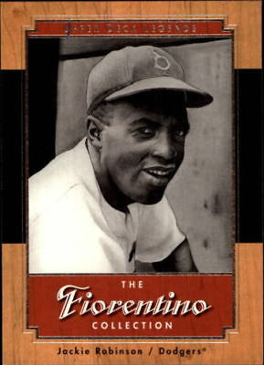 2001 Upper Deck Legends Fiorentino Collection Baseball Card #F8 Jackie Robinson