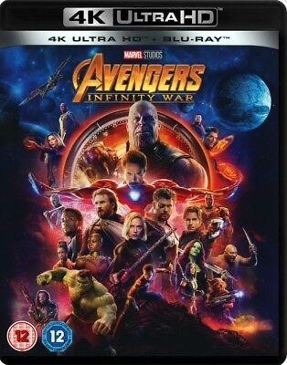 Avengers Infinity War 4K Ultra HD [Blu-Ray] New and factory sealed