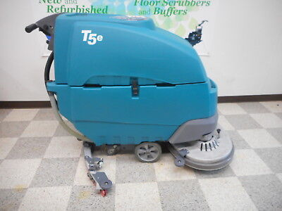 """RECONDITIONED TENNANT T5e 32"""" WALK BEHIND DISC FLOOR SCRUBBER"""