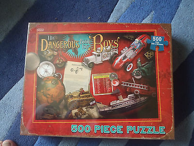 Jigsaw Puzzle: The Dangerous Book for Boys