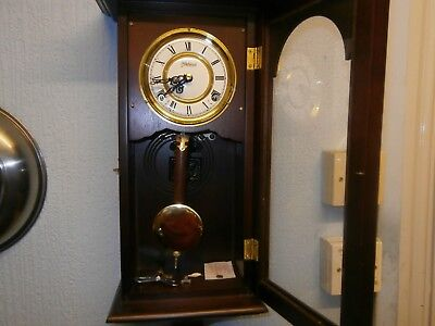 Highlands Wind-Up Chime, Pendulum Cabinet Wall Clock