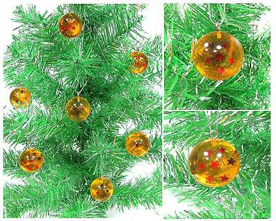 Dragon Ball Z Christmas Ornament Set Featuring 7 Wish Granting Ball Spheres 1""