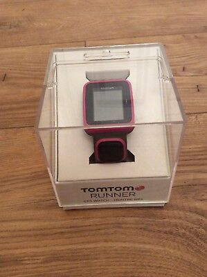 TomTom Spark Music GPS Fitness Watch - Bluetooth, 3GB Memory, Black / Pink