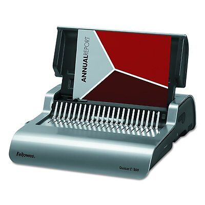 Fellowes Quasar 500 Electric Comb Binding System New!!!