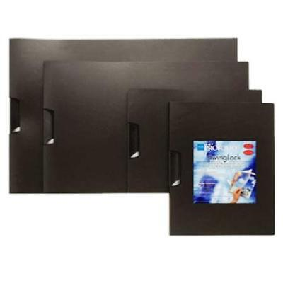 "Itoya 17 x 11"" 6 Pieces Protfolio SwingLock Art Presentation Fldr Lndscp SLH1711"