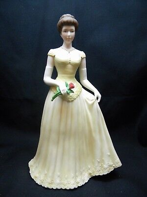 Home Interiors Porcelain Figurine #13423-07 Belle of the Ball 2007